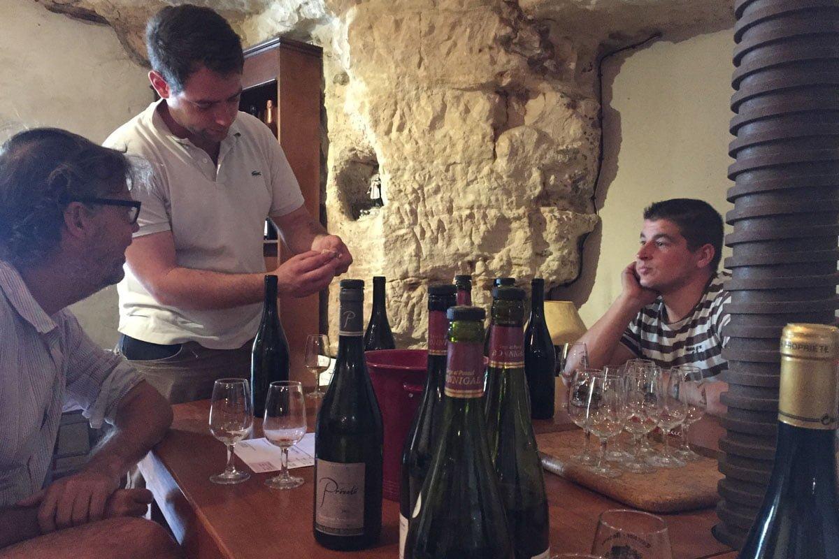 wijnproeven bij Bonnigal