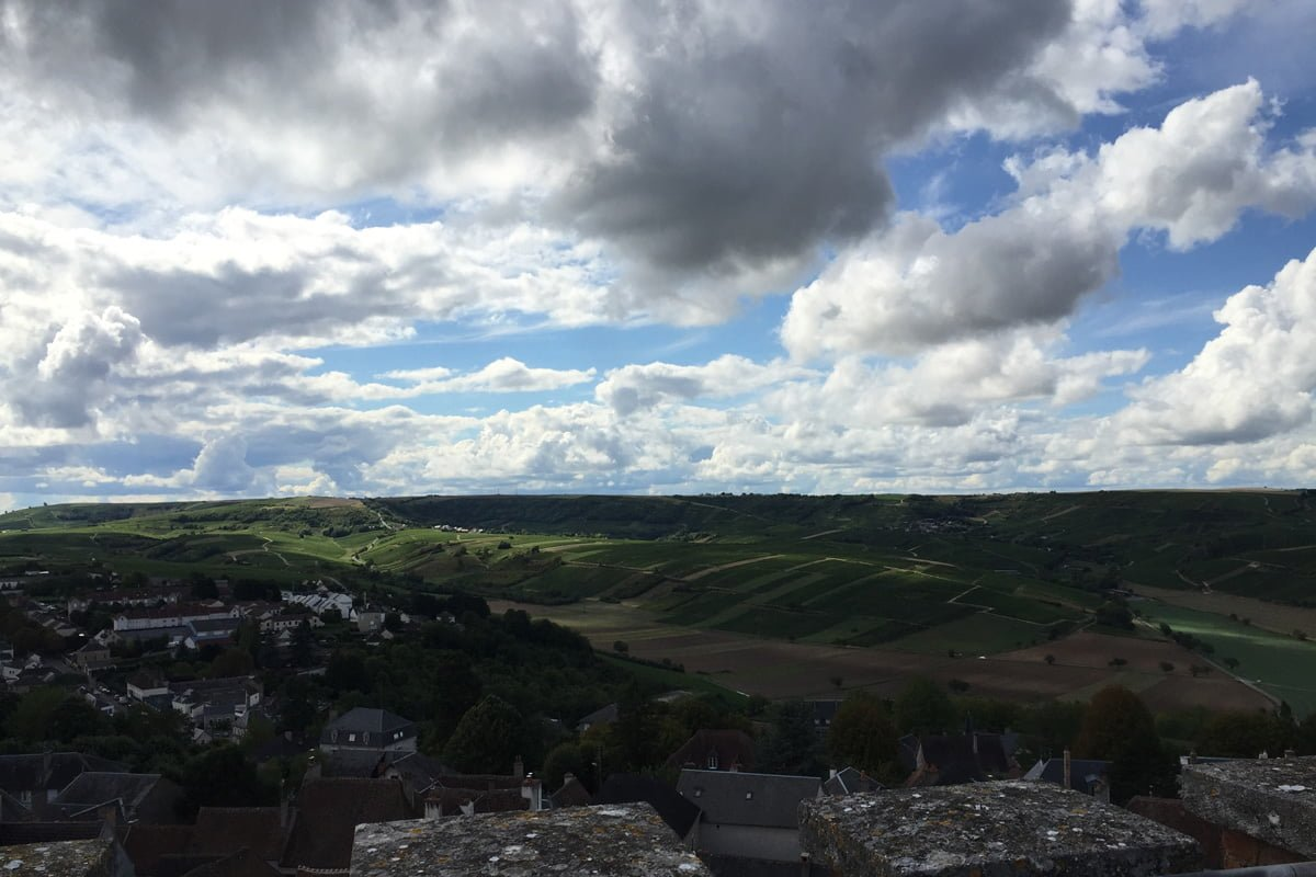 zicht vanaf de toren van Sancerre
